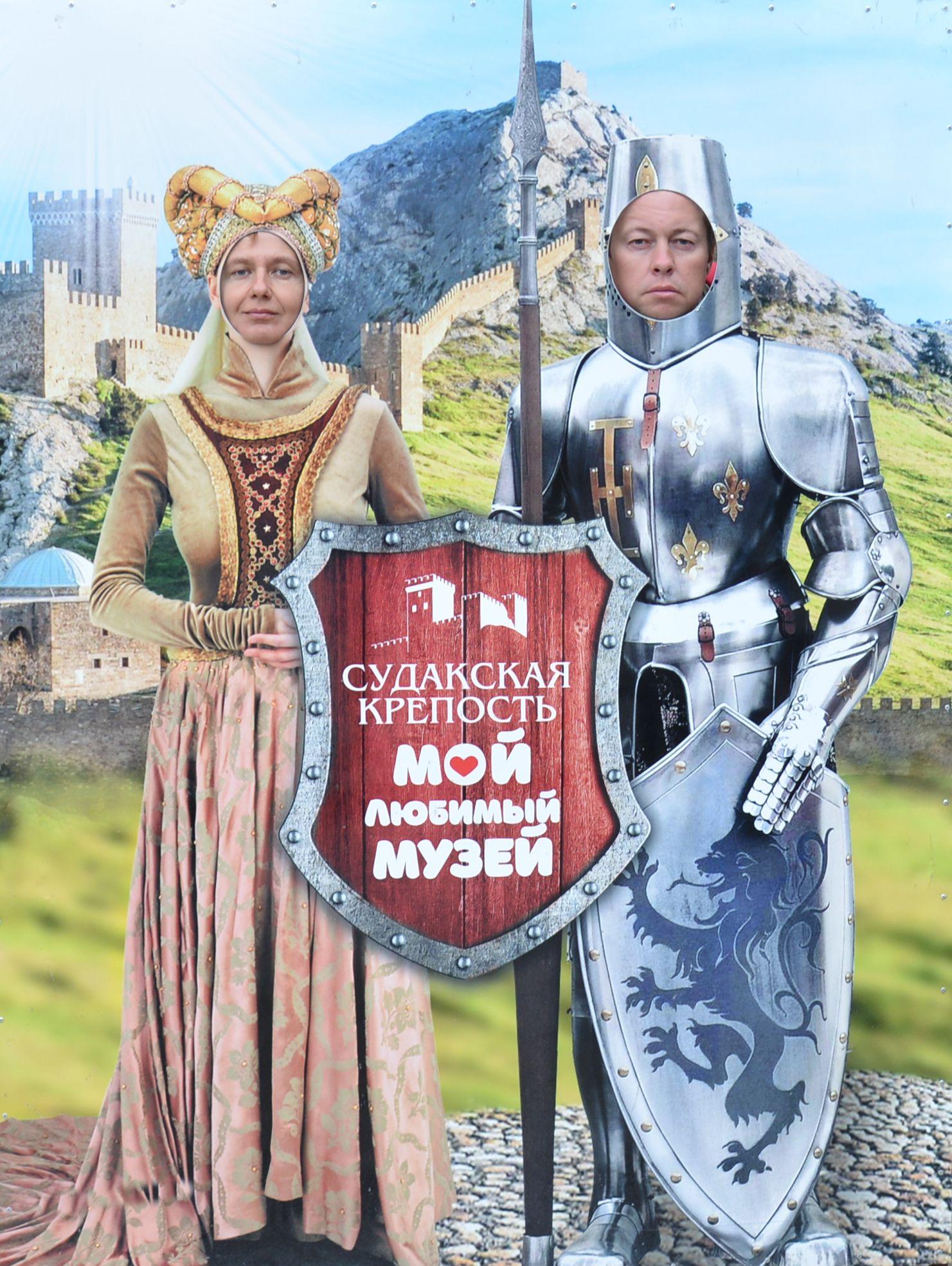 Королева и её рыцарь. В образе