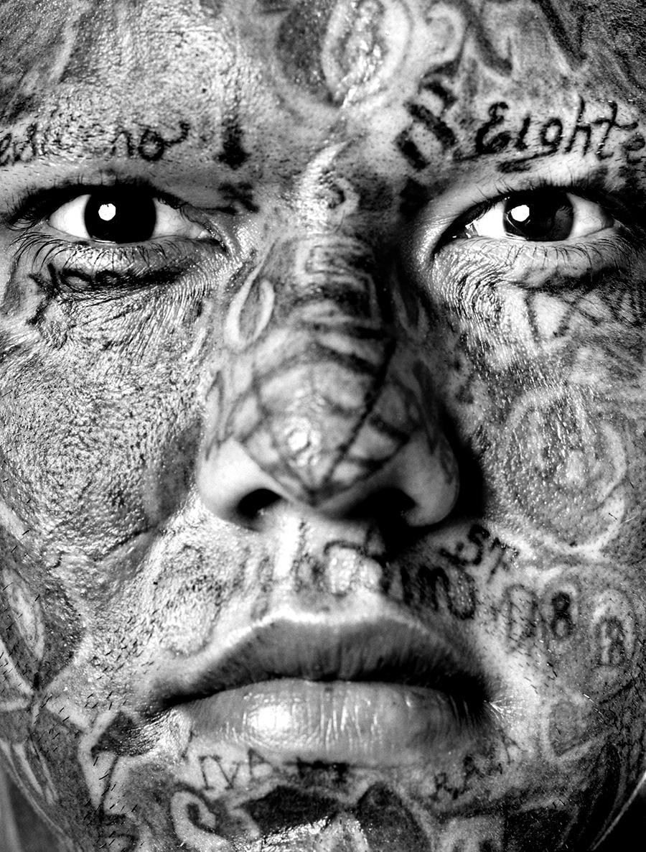 Портрет члена банды<br />мара.