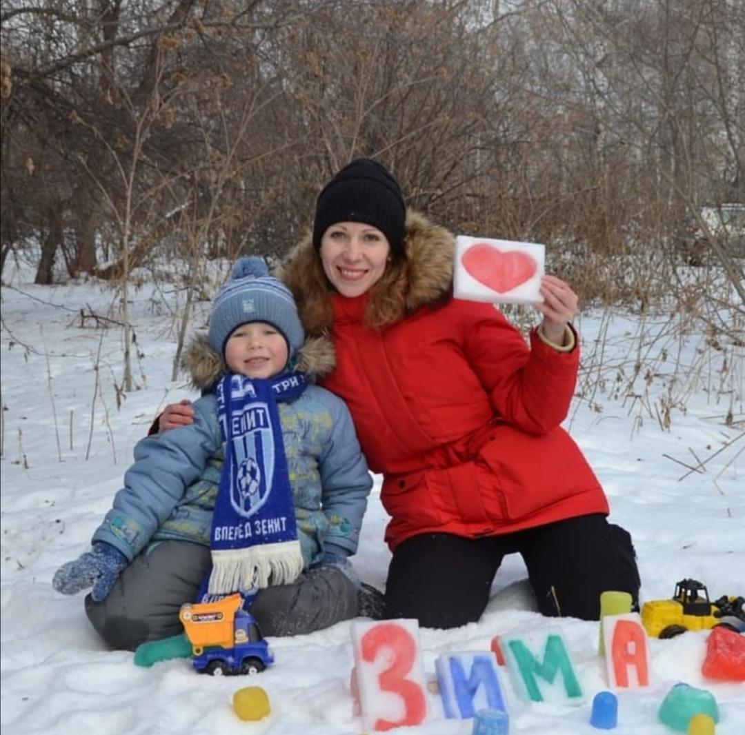 Зима Love . Блиц: фигуры из снега