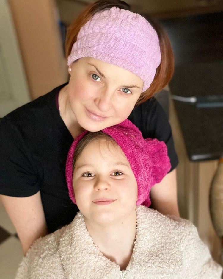 Ирина Слуцкая дети дочь Варя