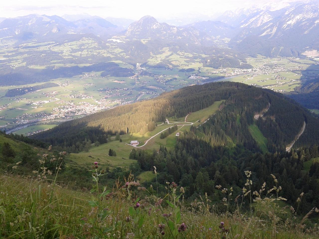 Австрийские луга. Блиц: вид сверху