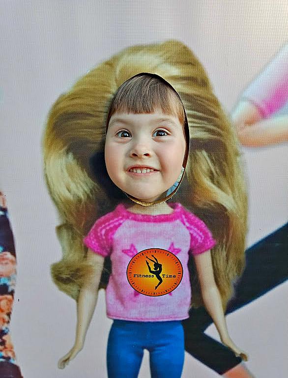 Барби-Маша в кадре! . В образе