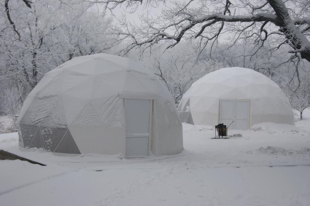 Снежные домики. Блиц: фигуры из снега