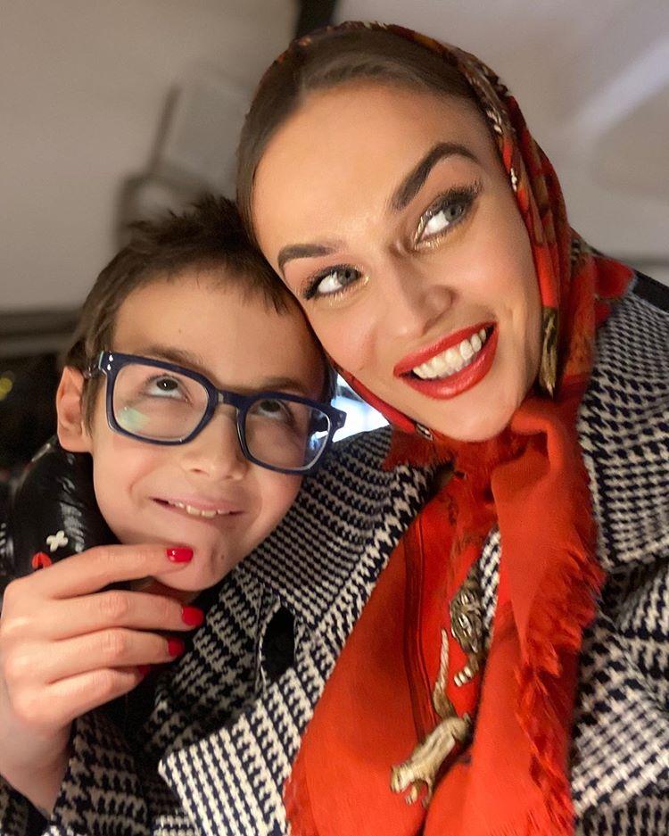 Алена Водонаева сын Богдан