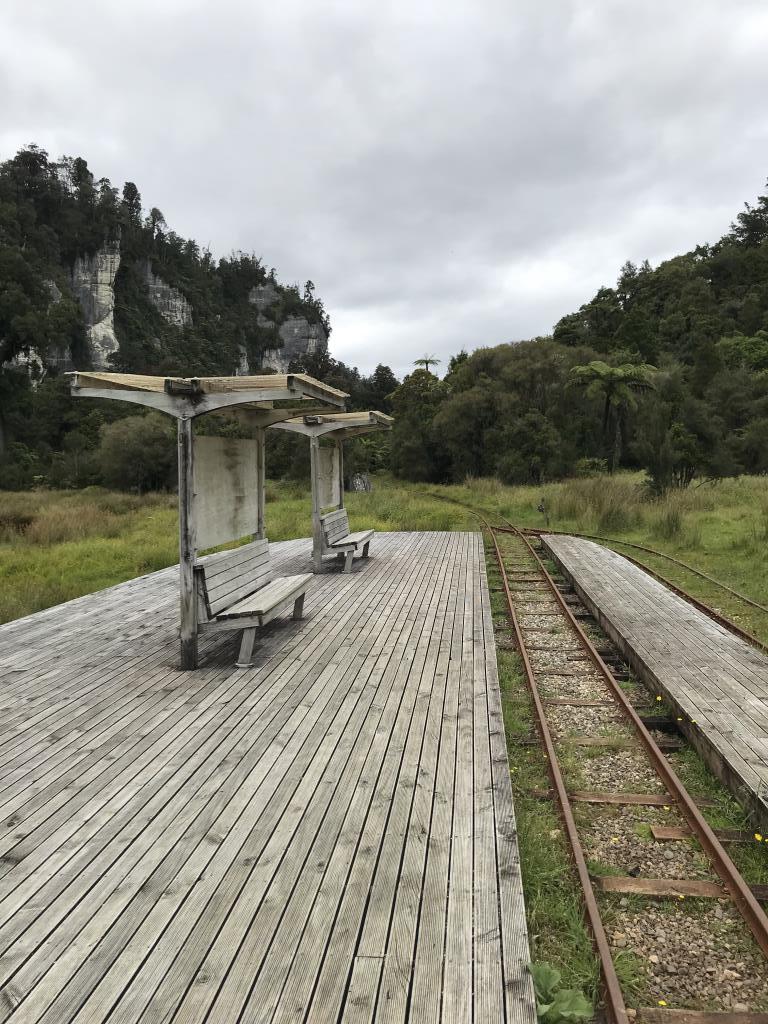 Деревянная железная дорога (Новая Зеландия). Блиц: железная дорога