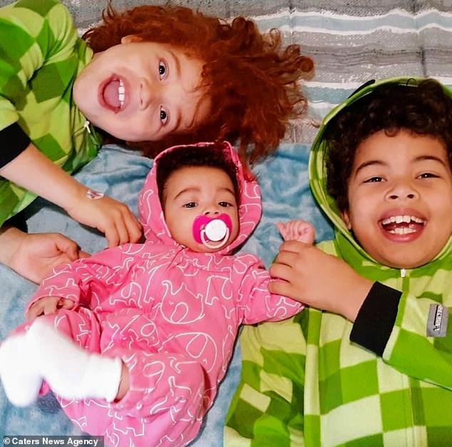 Генетика родители черные и белые дети