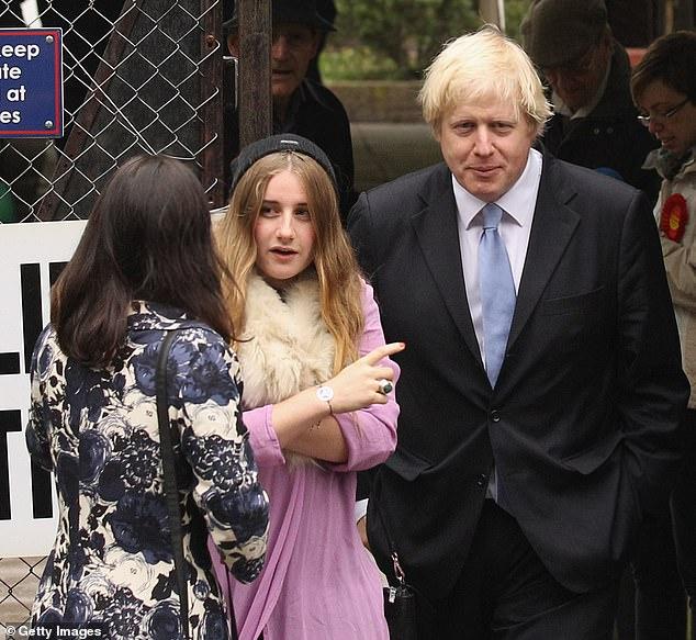 Борис Джонсон дети старшая дочь Лара