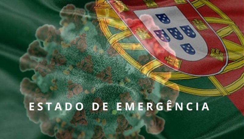 Коронавирус режим ЧП Португалия