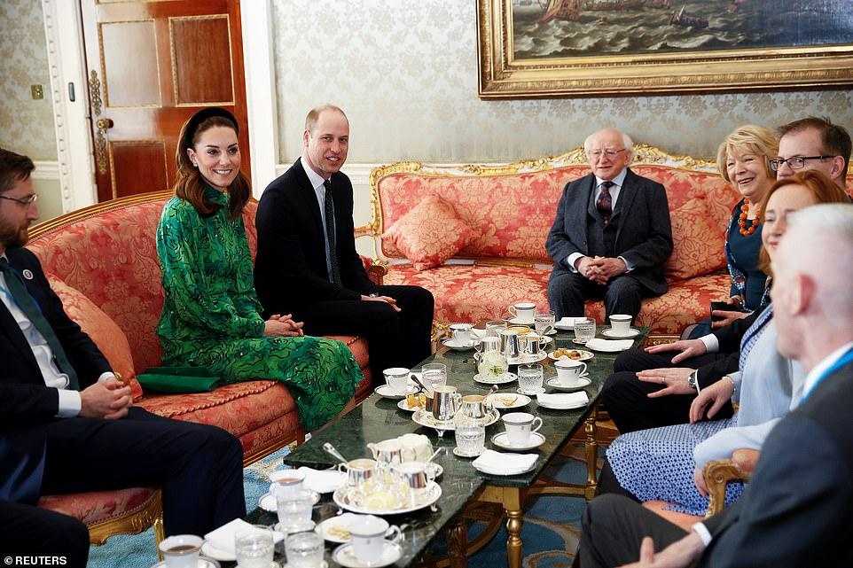 Принц Уильям Кейт Миддлтон 2020 Ирландия