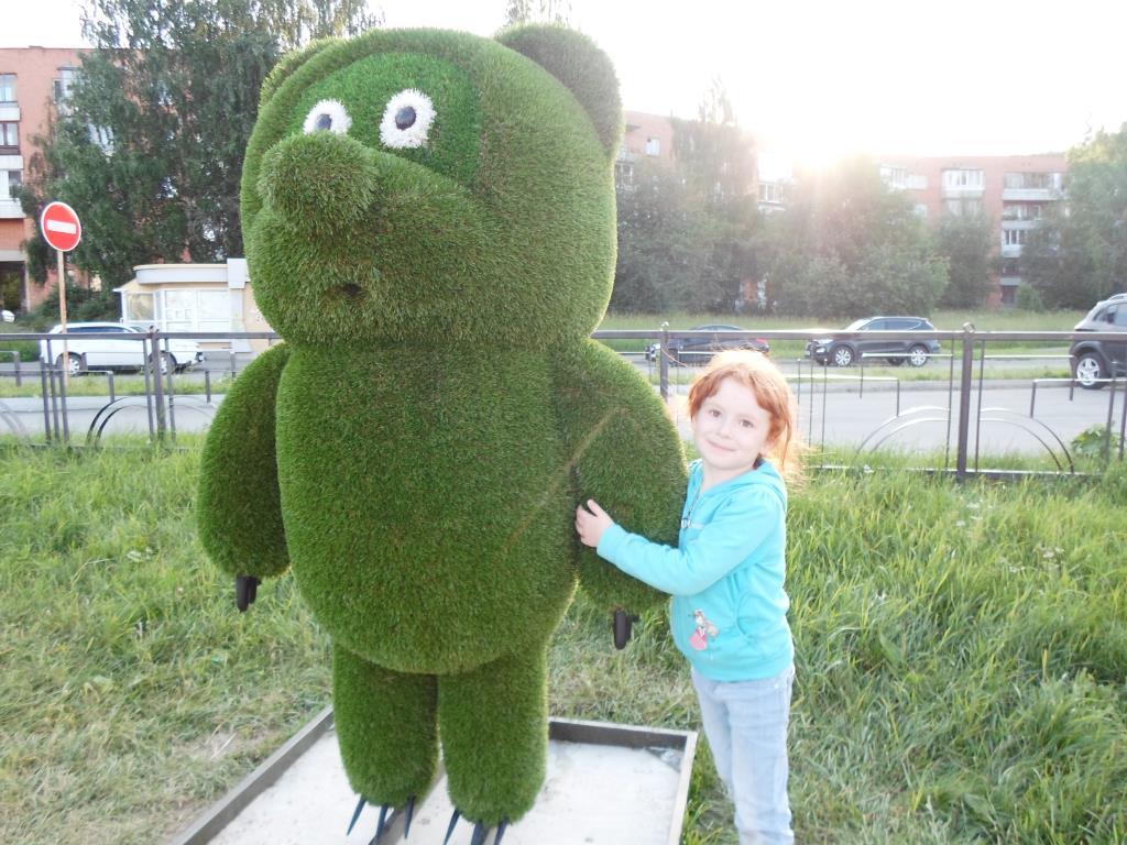 Зелёный Винни. Блиц: современное искусство