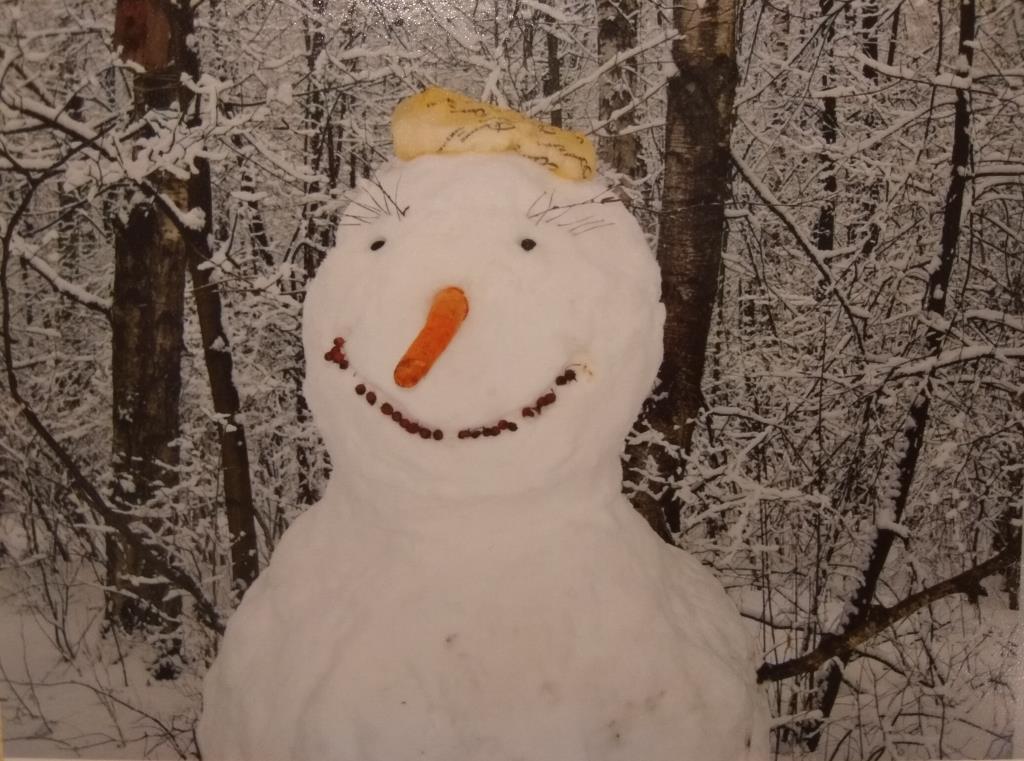От улыбки снежный день светлей:). Блиц: фигуры из снега