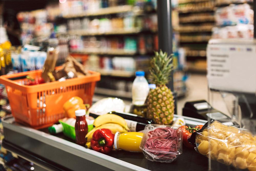 Покупка продуктов во время карантина