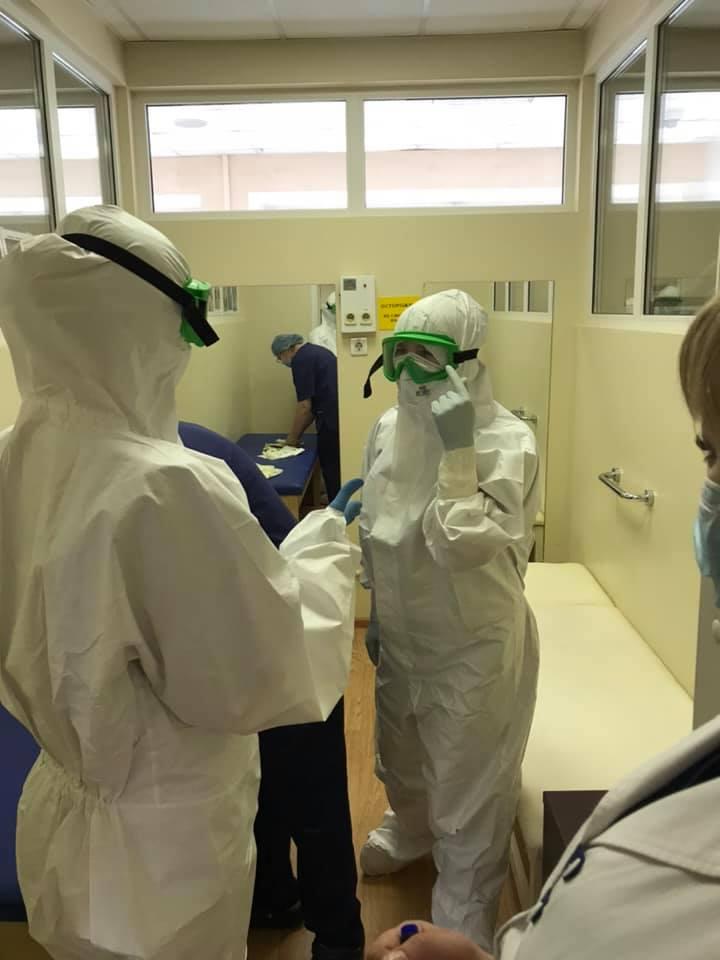 Больные коронавирусом в Москве Пироговка