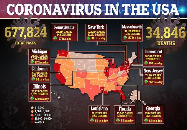 Коронавирус в США 2020