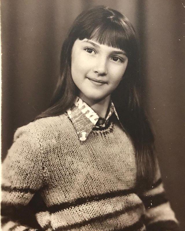 Лера Кудрявцева в детстве