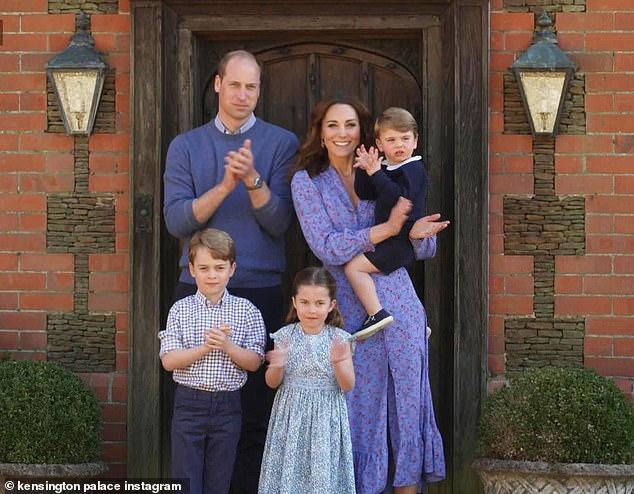 Принц Уильям Кейт дети все