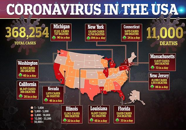 Коронавирус США