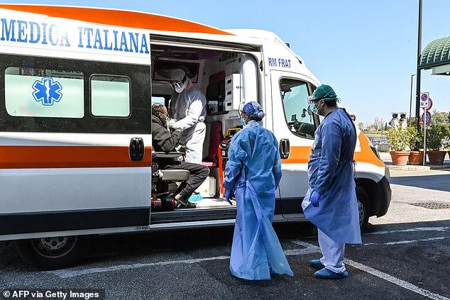 Умершие от коронавируса в Италии