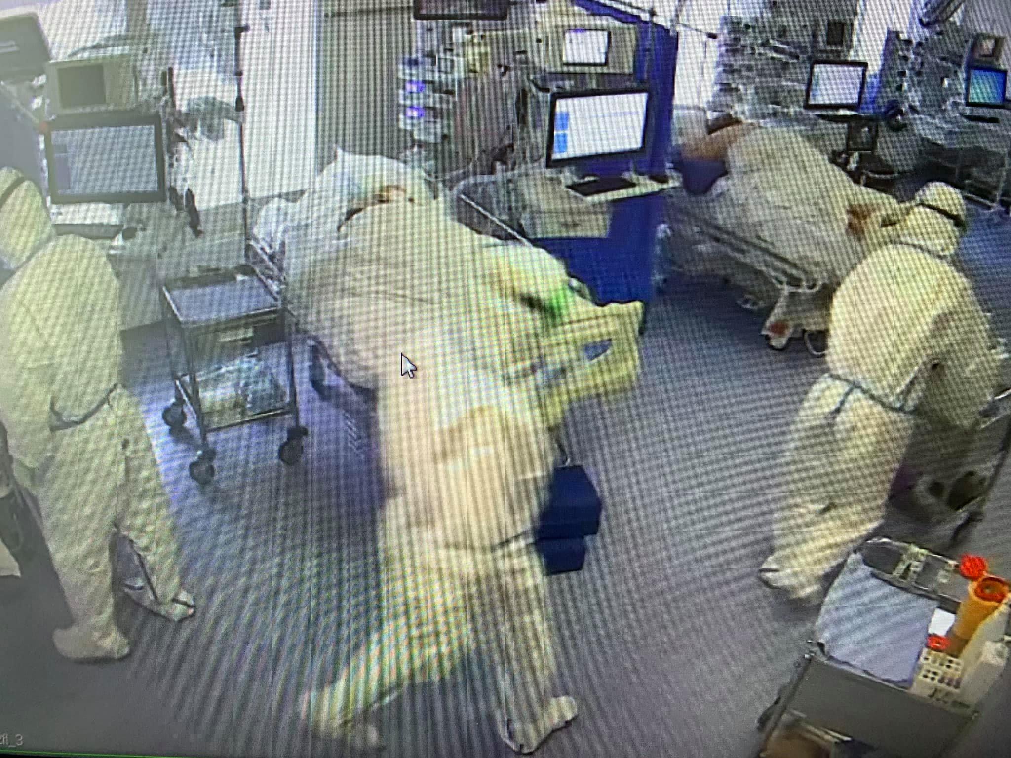 Больные коронавирусом в Москве Пироговский центр