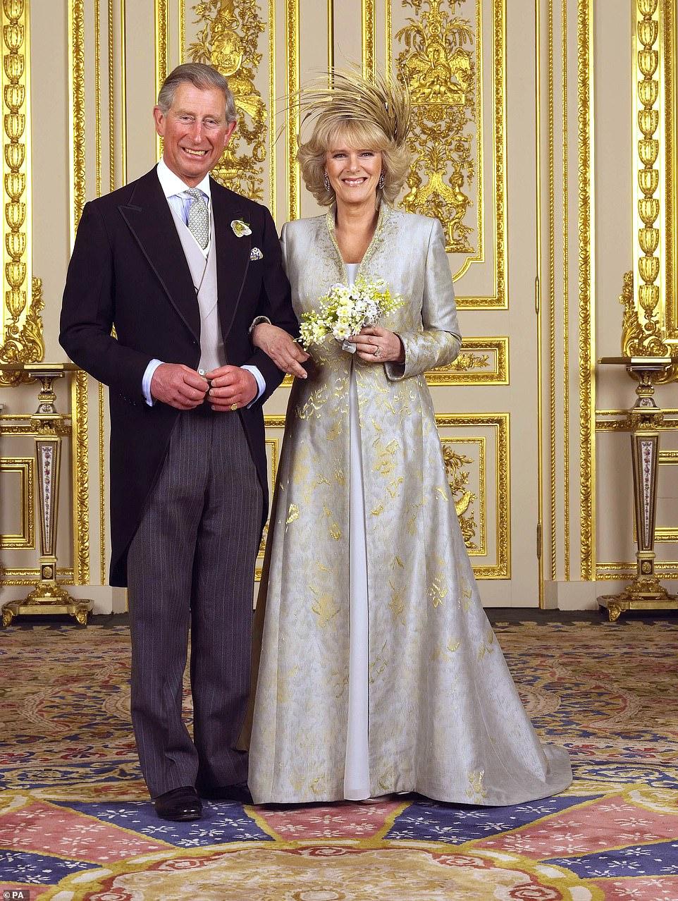 Принц Чарльз Камилла Паркер свадьба