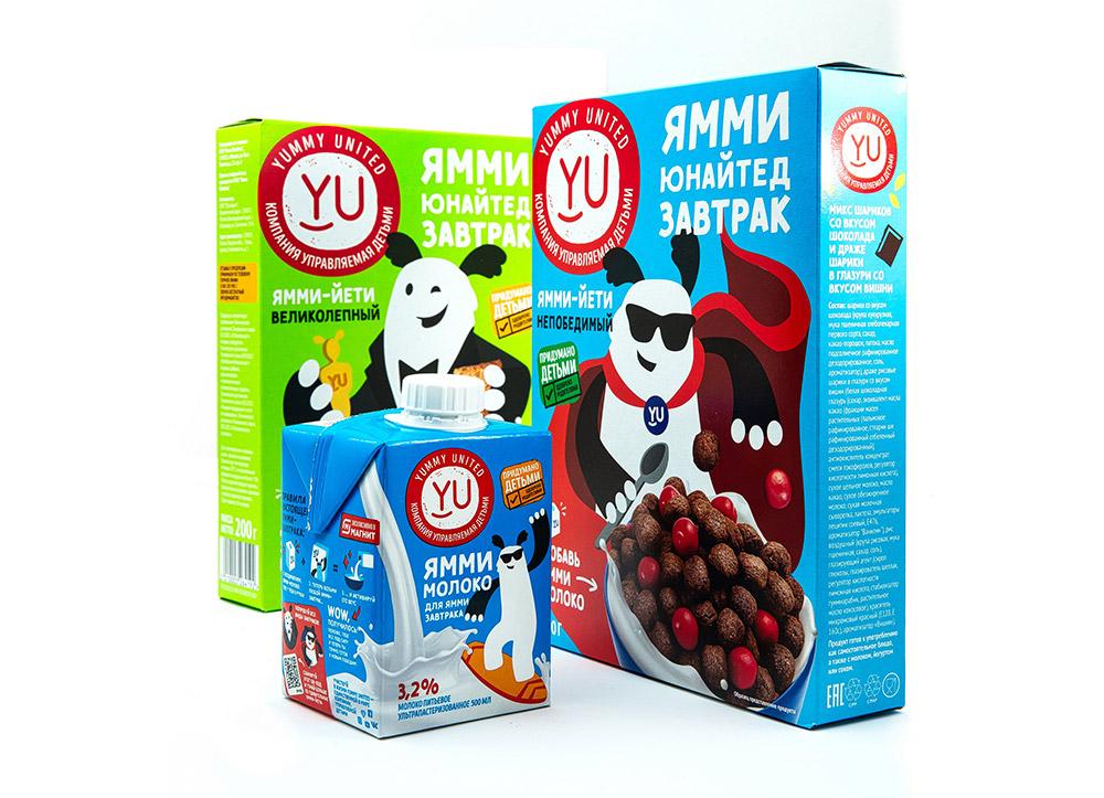 Сухие завтраки Yummy United