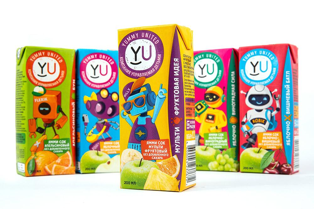Соки Yummy United