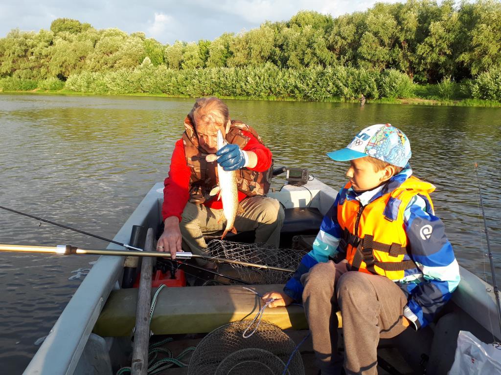 Рыбалка троллингом