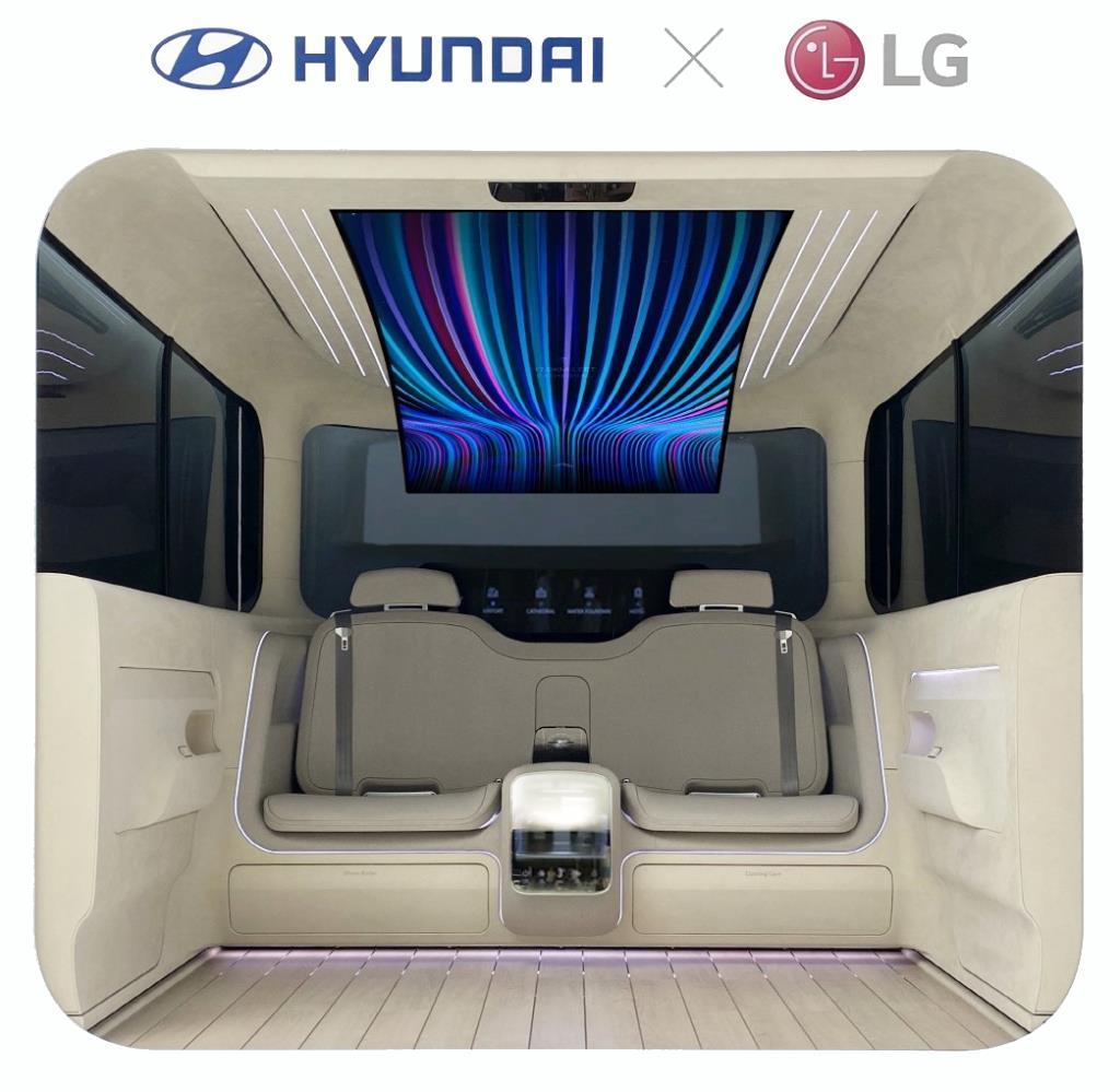 Lg и hyundai объединяются, чтобы создать по-настоящему домашний уют в электромобиле