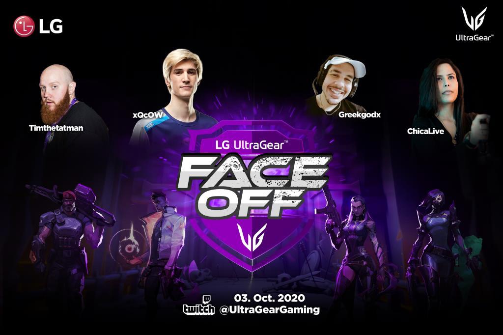Lg проводит турнир ultragear™ face-off за звание лучшего игрока «valorant»
