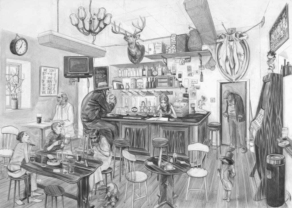 Charles Avery, художник