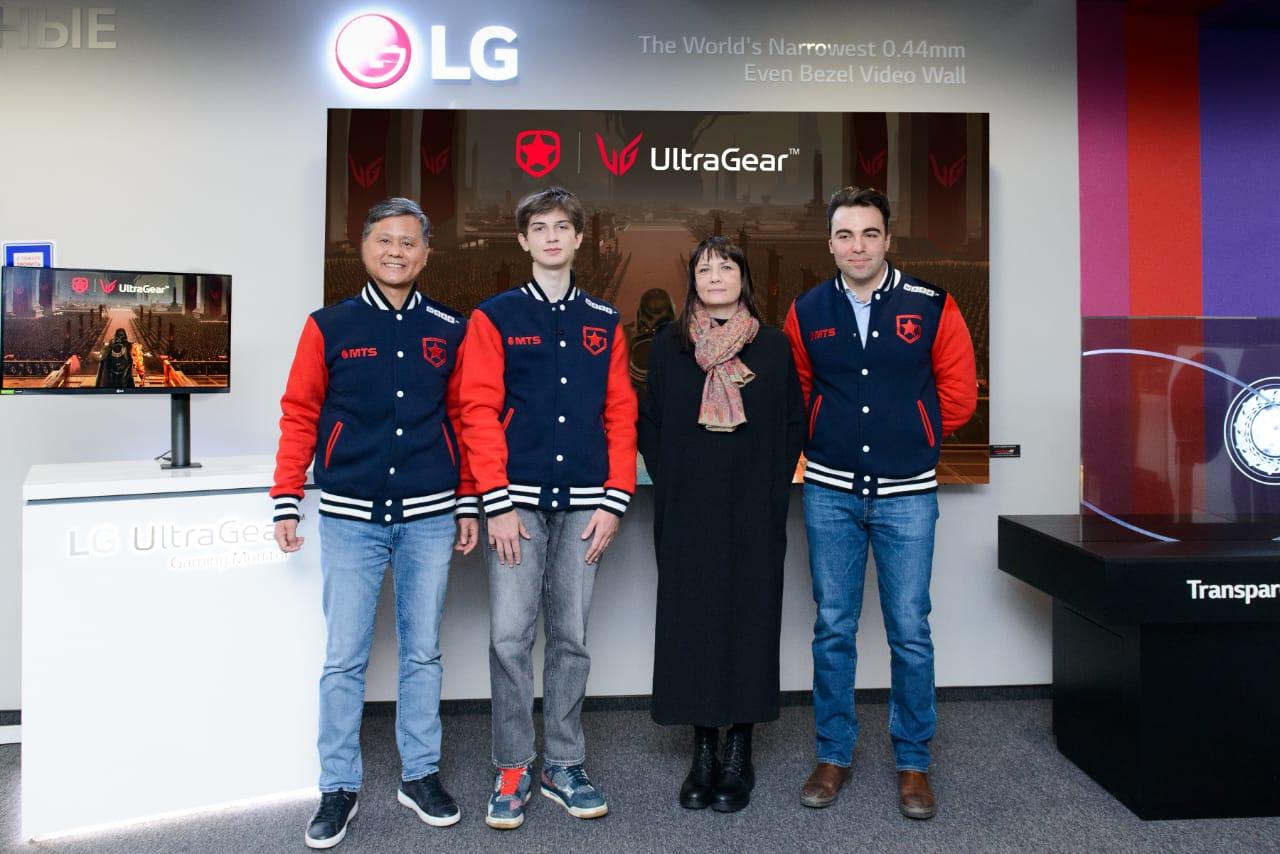 LG Electronics и Gambit Esports объявляют о продлении сотрудничества в области киберспорта на 2021 г
