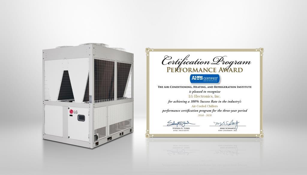 Компания LG Electronics (LG) уже четвертый год подряд отмечается AHRI