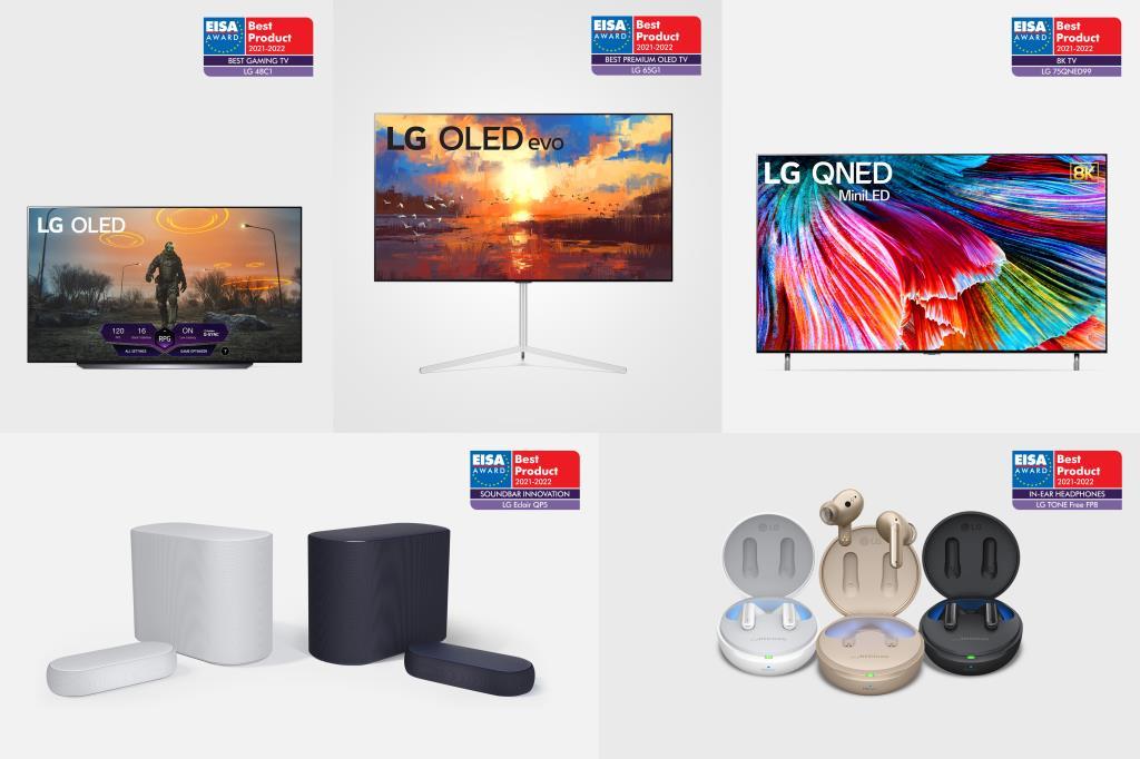 LG OLED 10-й год подряд признан самым инновационным телевизором премиум-класса на премии EISA 2021