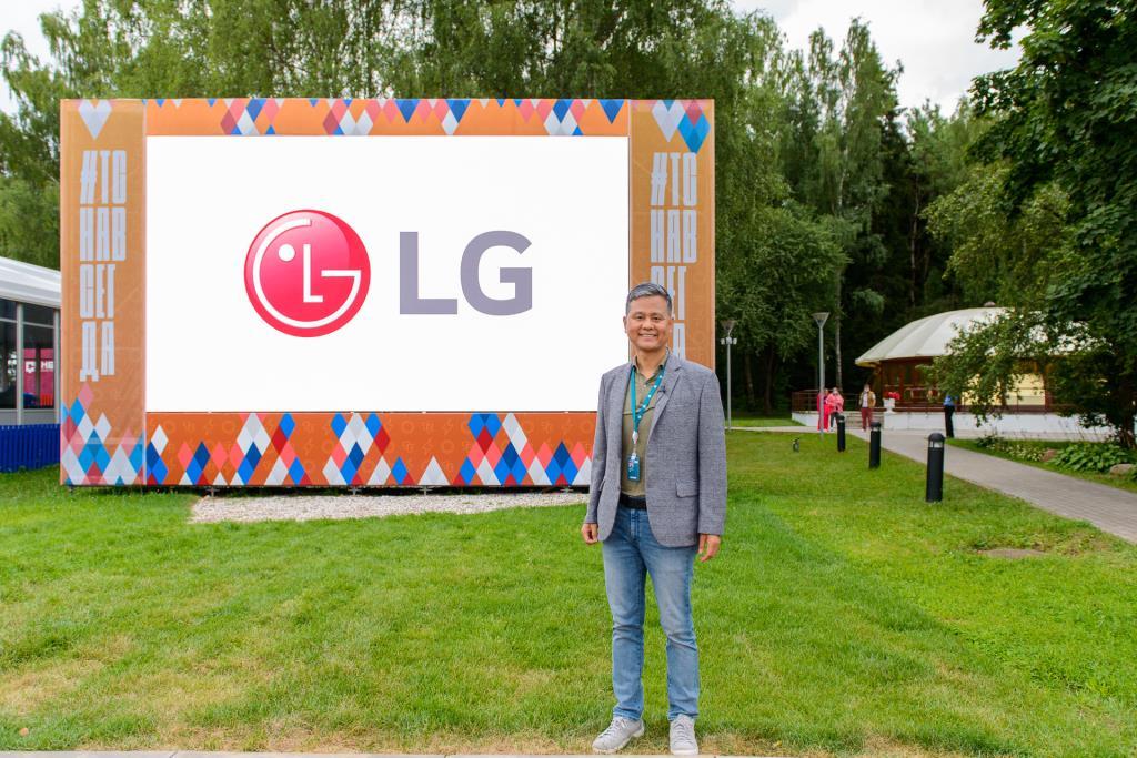 Познавательно-развлекательная программа LG Electronics на форуме «Территория смыслов»