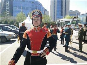 Оркестр, солдат:)