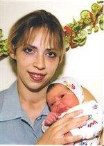 Первое фото мамы и дочки