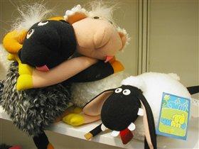 Овцы. Или барашки? :)