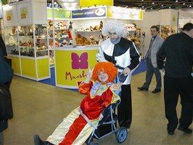 Клоуны из Компании Мир детства