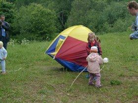 А палатка ходила ходуном...