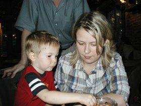Мама и сын (Ория и Андрей)