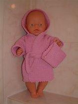 Кукольный халат и мочалка