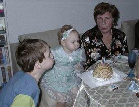 Внуки и бабушка