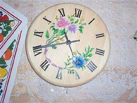 Цветы на часах
