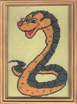 Воспитанная змея.