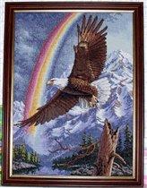 Орел и радуга от Дименшенс