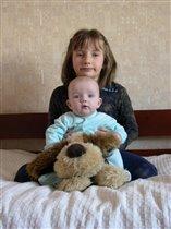Маруся Алена и собака