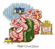 Piggin' Cross Stitch