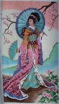 Японка с зонтом