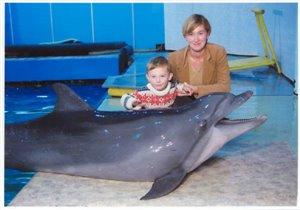 В московском дельфинарии