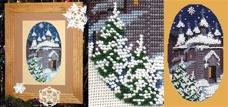 Рождество с бисером
